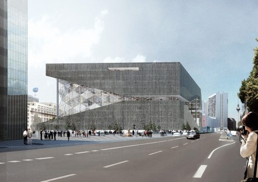 Axel Springer Campus building by OMA