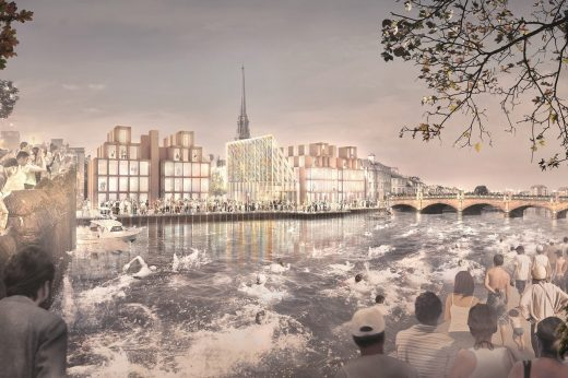 Ayr Waterfront Masterplan by Níall McLaughlin Architects