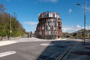 Calton Hill Hotel in Edinburgh by Hoskins Architects