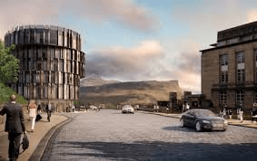 Calton Hill Hotel design by Hoskins Architects
