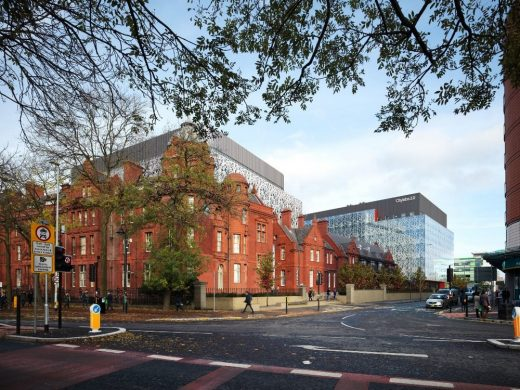 Citylabs in Manchester design by Sheppard Robson Architects