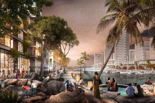 Colombo Master Plan by SOM | www.e-architect.co.uk