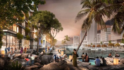 Colombo Masterplan design by SOM | www.e-architect.com