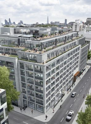 Derwents Contemporary Mixed-Use Development design by make Architects