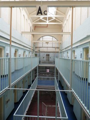 Dorchester Prison building interior