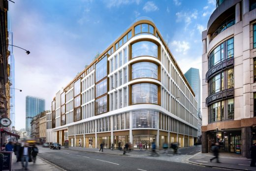 EPR Architects 60 London Wall Building
