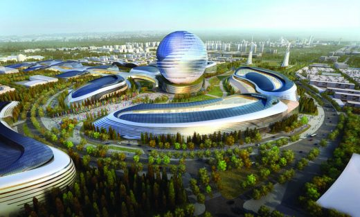 Kazakhstan Architectural Contest design by AS+GG