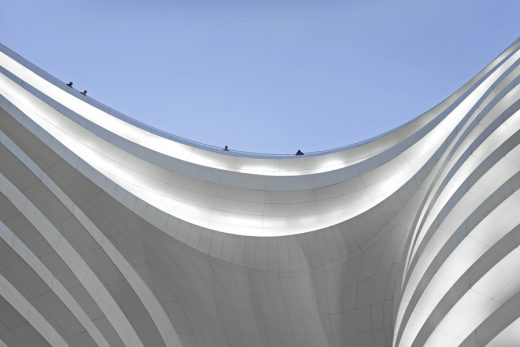 Galaxy Soho Beijing by Zaha Hadid Architects building