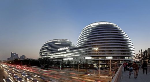 Galaxy Soho Beijing building by Zaha Hadid Architects