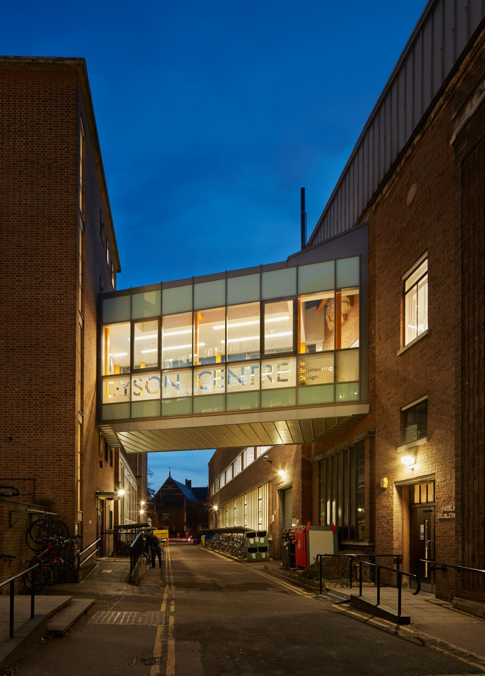 James Dyson Building University Of Cambridge E Architect