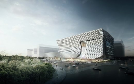 Kolon Future Research Park HQ by Morphosis Architects