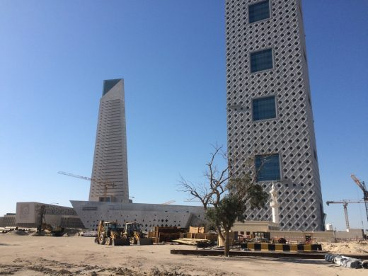 Central Bank of Kuwait new building