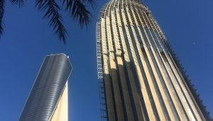 Al Hamra Firdous Tower and National Bank of Kuwait