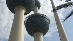 Kuwait Towers building