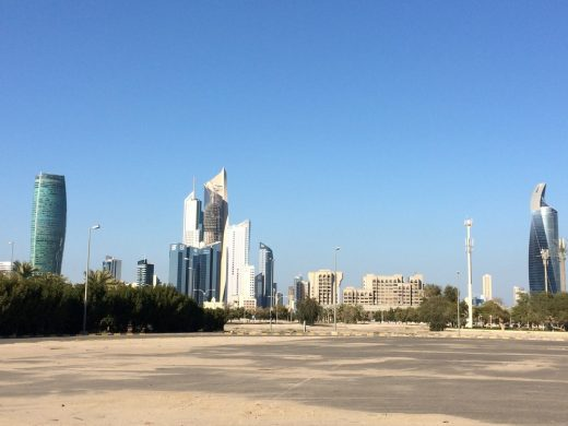 Sharq towers from South West