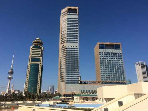 Kuwait Skyscraper Buildings