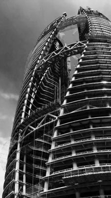 Leeza SOHO building by Zaha Hadid Architects in Beijing