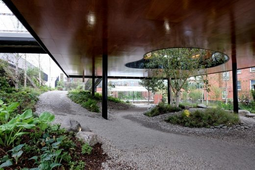 Maggie's Oldham landscape | www.e-architect.co.uk
