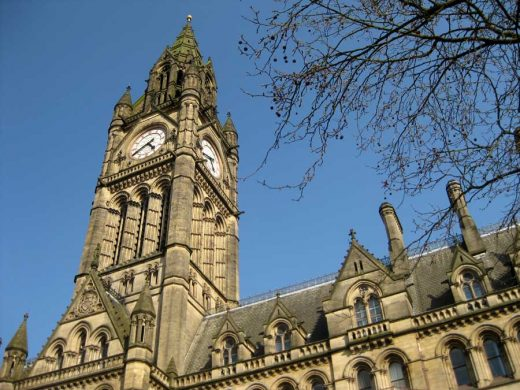 Manchester Town Hall by Alfred Waterhouse