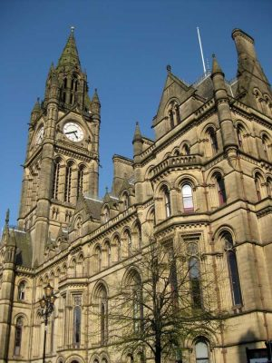 Manchester Town Hall Building