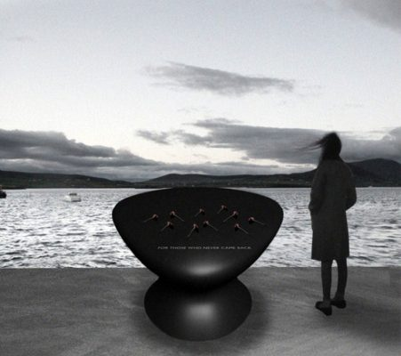 Memorial to those lost at sea, Valentia Island