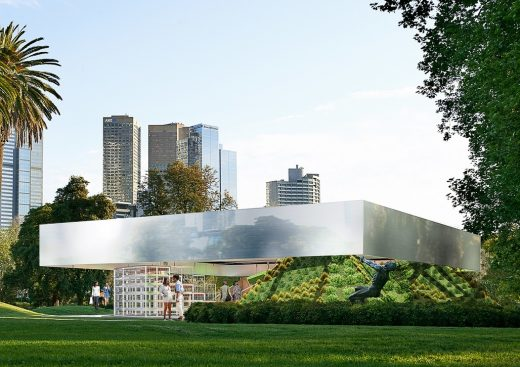 MPavilion 2017 OMA Rem Koolhaas + David Gianotten