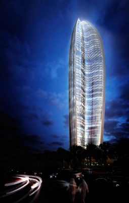 NBK Tower Building by Foster + Partners