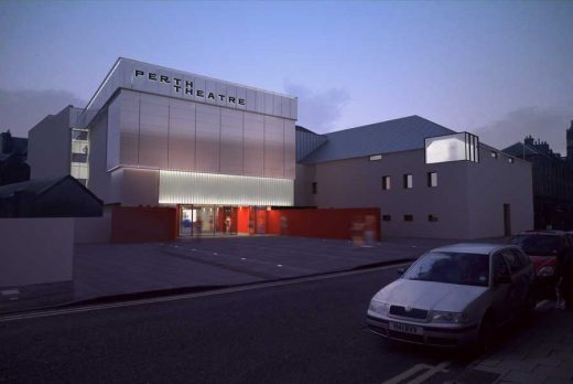 Perth Theatre Building design - Scottish Theatres architecture