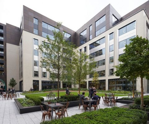 Rathbone Square Mixed-Use Development in London