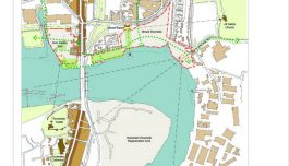 Strood Riverside Masterplan proposal by IBI Group