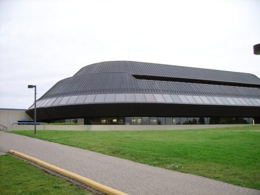 Students' Union building at the University of Lethbridge