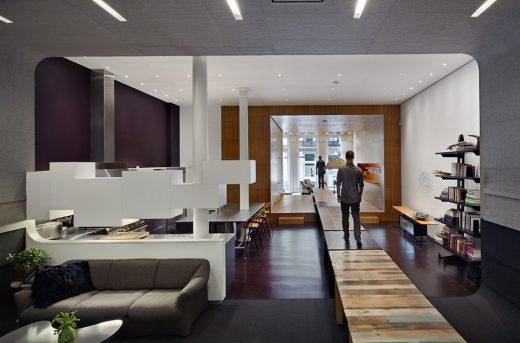 White Street Loft interior