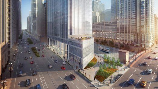 110 North Wacker Office Building Chicago