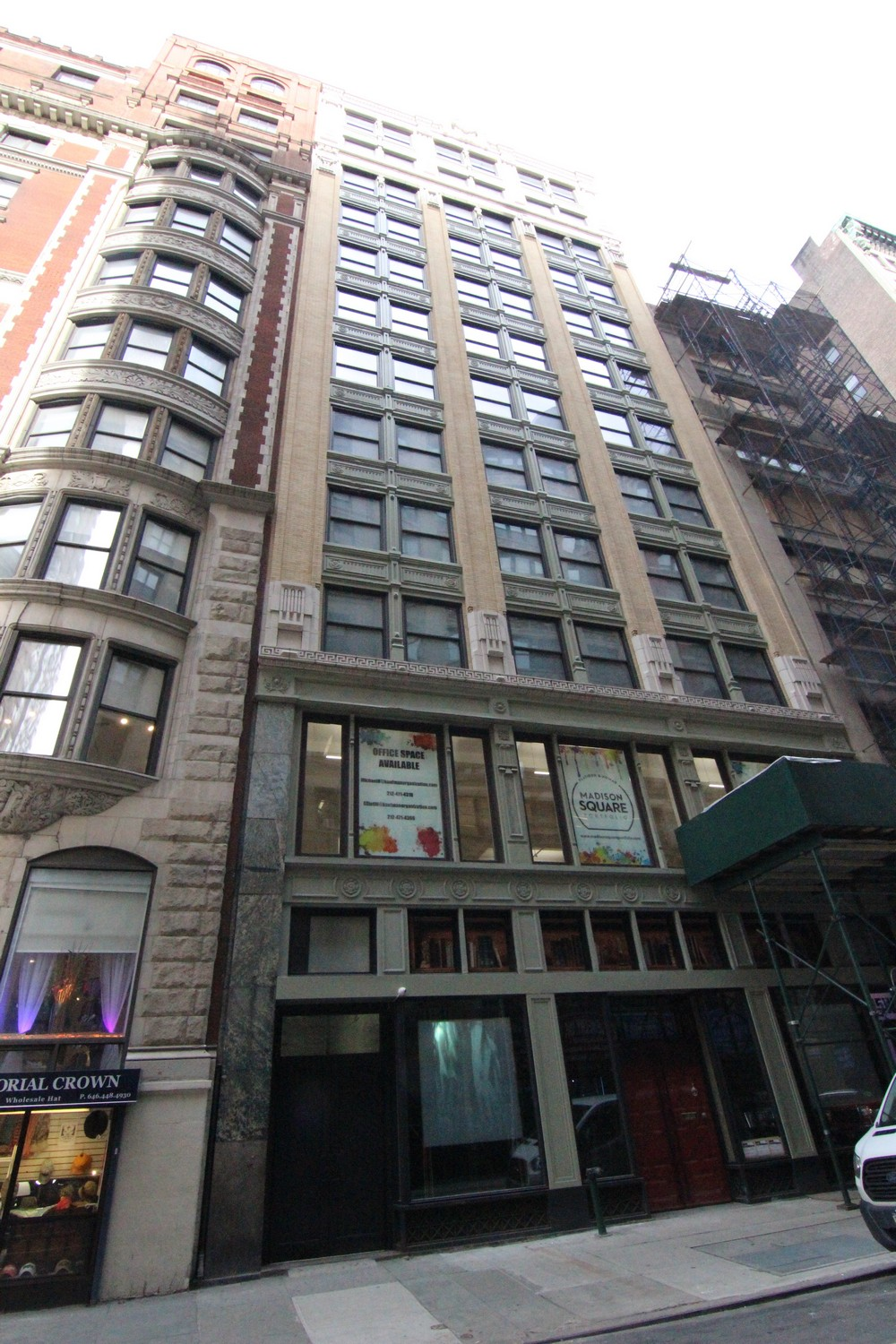 45 West 27th Street Office Building Nyc E Architect