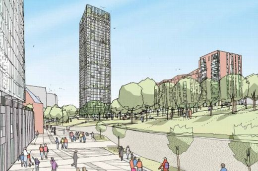 Angel Meadows Tower Manchester Building News