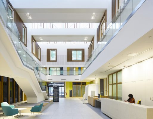 Ballymena Health & Care Centre interior