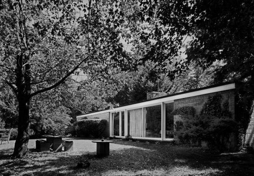 First residence designed by architect Philip Johnson
