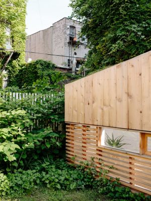 Brooklyn Garden Studio by Hunt Architecture