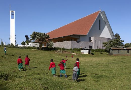 Catholic Cathedral in Kericho, Kenya building design by John McAslan + Partners