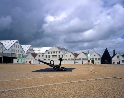 Command of the Oceans, Chatham Historic Dockyard, Chatham - Wood Awards 2017 Shortlist