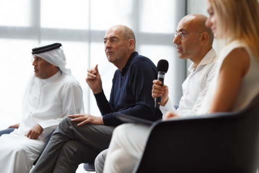 Concrete opening press conference Rem Koolhaas