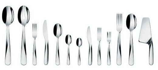 Giro cutlery family for Alessi