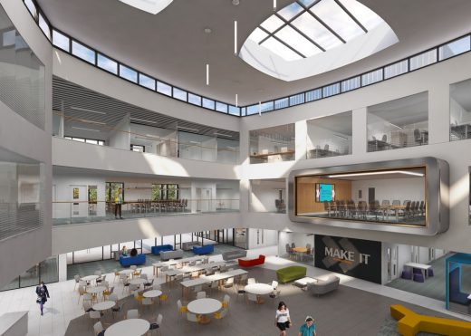 Gloucestershire Business School Building design