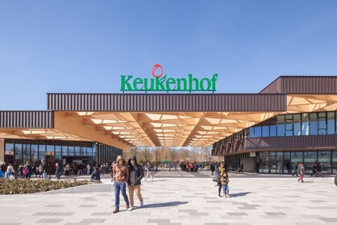 Grand Gatehouse for Keukenhof by Mecanoo