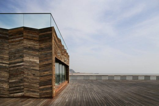 Hastings Pier, Hastings by dRMM Architects - Wood Awards 2017 Shortlist