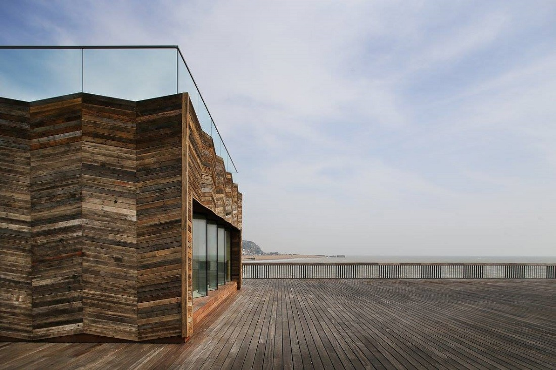 Hastings pier regeneration e architect for House piers