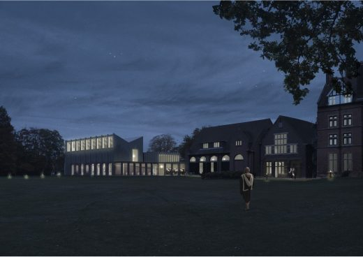 Homerton College Cambridge Competition design by Feilden Fowles architects