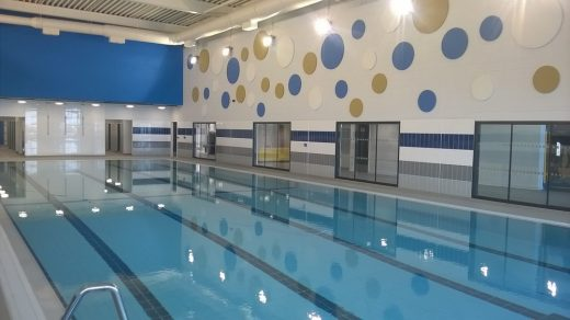 Girvan leisure centre swimming pool