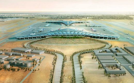 Middle East airport building design by Foster + Partners
