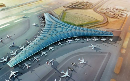 Kuwait International Airport Building by Foster + Partners